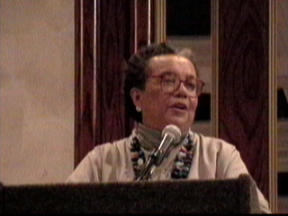 Marian Wright Edelman, founder of Children's Defense Fund