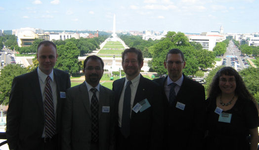 RESULTS partners with TB experts and on House Speaker's Balcony